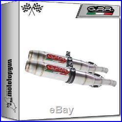 2 Kit Scarico Gpr Deeptone Inox Race Moto Morini Corsaro 1200 2005/2011