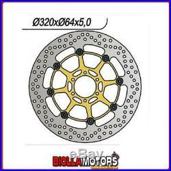 6591060 DISCO FRENO ANTERIORE DX-SX NG MOTO MORINI Corsaro 1200CC 2005/2010 1060