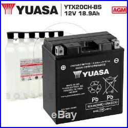 Batteria Yuasa Ytx20ch-bs 12v 18ah Moto Morini Corsaro / Veloce / Ario 1200 2009