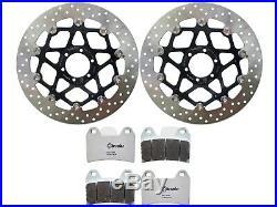 Brake Discs Front BREMBO SERIE ORO + Brake Pads Front LA (78B40870+07BB19LA)