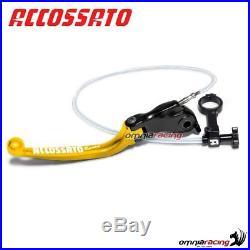 Brake lever remote adjust Accossato gold 35mm Moto Morini Corsaro 1200 07 2551