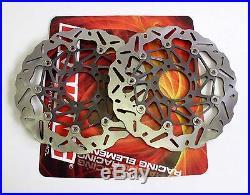 Braking Kit Dischi Freno Anteriori Wave Sk2 Moto Morini Corsaro 1200 05 06 07