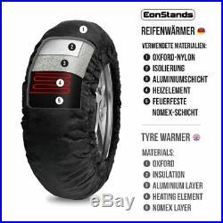 Couverture chauffante pneu Set 60-80 C OG Moto Morini Corsaro/ Avio/ Veloce 1200
