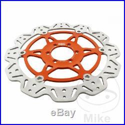 EBC Front Brake Disc Vee Rotor Orange KTM RC8 1190 2009