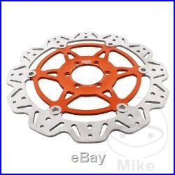 EBC Front Brake Disc Vee Rotor Orange KTM Super Duke 990 R LC8 2009
