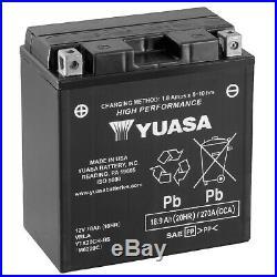 Genuine Yuasa YTX20CH-BS High Performance AGM Motorcycle Battery YTX20CHBS
