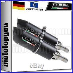 Gpr 2 Auspuff Abe Furore Schwarz Moto Morini Corsaro 1200 2005 05 2006 06