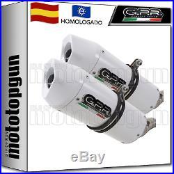 Gpr 2 Escape Hom Albus Ceramic Moto Morini Corsaro 1200 2005 05 2006 06 2007 07