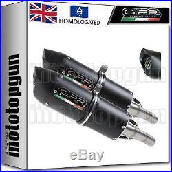 Gpr 2 Exhaust Hom Furore Evo4 Black Moto Morini Corsaro 1200 2011 11