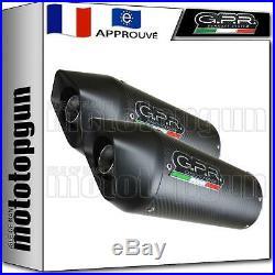Gpr 2 Pot D Echappement Homologue Furore Carbon Moto Morini Corsaro 1200 2011 11
