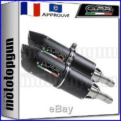 Gpr 2 Pot D Echappement Homologue Furore Noir Moto Morini Corsaro 1200 2009 09