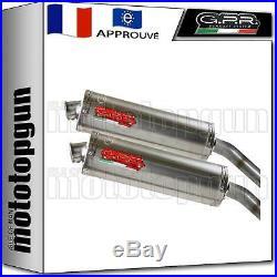 Gpr 2 Pot D Echappement Homologue Oval Titanium Moto Morini Corsaro 1200 2007 07