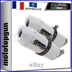 Gpr 2 Pot D'echappement Hom Albus Evo4 Moto Morini Corsaro 1200 2009 09 2010 10