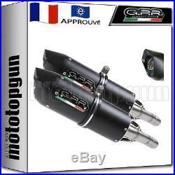 Gpr 2 Pot D'echappement Hom Furore Evo4 Noir Moto Morini Corsaro 1200 2005 05