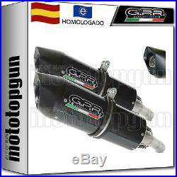 Gpr 2 Tubo De Escape Hom Furore Evo4 Carbono Moto Morini Corsaro 1200 2005 05
