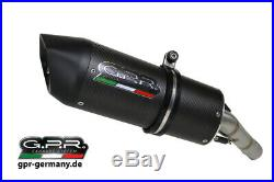Gpr Furore Carbonio Oval Moto Morini Corsaro 1200 2005/11 Doppel Slip On