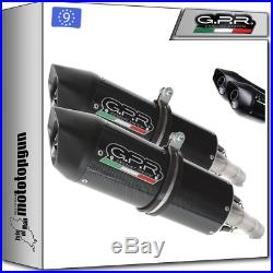 Gpr Hom Furore Carbon-look 2 Kit Exhaust Moto Morini Corsaro 1200 2005/2011