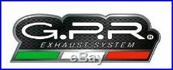 Gpr M3 Evo4 Titanium Natural Moto Morini Corsaro 1200 2005/11 Dual Slip-on