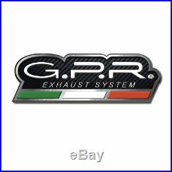 Gpr Pot D'echappement Approuve M3 Inox Moto Morini Corsaro 1200 2009 09 2010 10