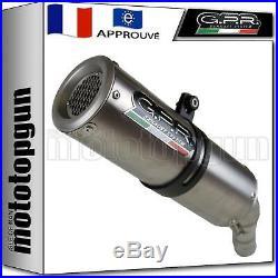 Gpr Pot D'echappement Approuve M3 Titanium Moto Morini Corsaro 1200 2010 10