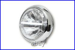 Highsider 7 inch LED headlight VOYAGE, bottom mounting