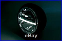 Highsider 7-inch LED headlight VOYAGE, side mounting