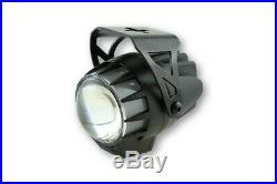 Highsider LED headlight DUAL-STREAM, black, lens diameter 45 mm