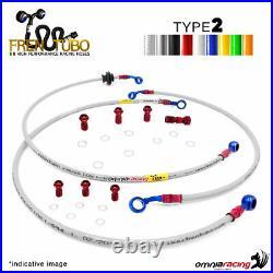 Kit tuyaux frein 2 Frentubo MOTO MORINI CORSARO 1200 TUB. Huile. RAD. 05/11
