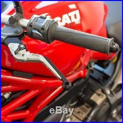 Kupplungshebel + Bremshebel Cust mit ABE Moto Morini Corsaro 1200 06-09