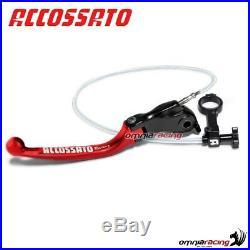 Lever remote adjust Accossato red 35mm Moto Morini Corsaro 1200 07 2353