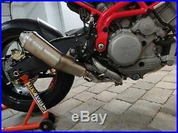 MassMoto Exhaust Full-System Tromb Titanium New For Moto Morini Corsaro 9 1/2