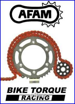 Moto Morini 1200 Corsaro 06-07 AFAM Upgrade Orange Chain And Sprocket Kit