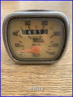 Moto Morini 125 150 175 Corsaro speedometer Speedo Clock Cev Rare Original Old