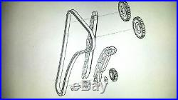 Moto Morini 9 1/2 Corsaro 1200 Granpasso 1200 Steuerketten-Kit OEM R1613050 NEU
