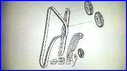 Moto Morini 9 1/2 Corsaro 1200 Grapasso 1200 Steuerketten-Kit OEM