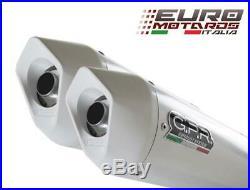 Moto Morini CORSARO 1200 2005-2011 GPR Albus Terminali Scarico Exhaust