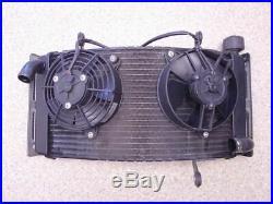 Moto Morini Corsaro 1200 Wasser Kühler Lüfter radiator water cooler fan 20TKM 07