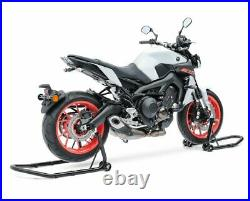 Motorcycle Front and Rear Paddock Stand Set Constands BCS black