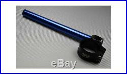 Paar blaue 360° neigbare Stummellenker 50 mm MOTO MORINI CORSARO ZZ 2012-2018