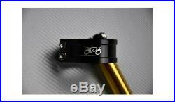 Paar goldene 360° neigbare Stummellenker 50 mm MOTO MORINI CORSARO 2006-2011