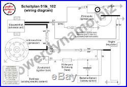 Powerdynamo VAPE Ignition Stator System Moto Morini 125 150 Corsaro 17mmShaft DC