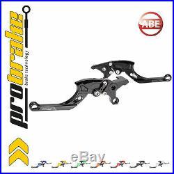 Probrake TECTOR schwarz Brems Kupplungshebel für MOTO MORINI Corsaro 1200 Veloce