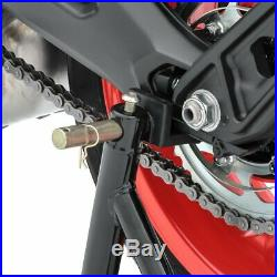Set MA1 Motorcycle Paddock Stand Set + Cover Stretch XL blk