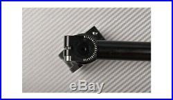 Silber 360° neigbare Stummellenker 50 mm MOTO MORINI CORSARO VELOCE 2007-2011