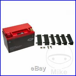 Suzuki VS 1400 GLF Intruder flat bar 1987 JMT Lithium Ion Battery YTX20CH-FP