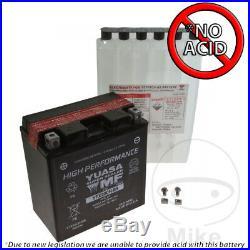 Suzuki VZR 1800 M1800 RBZ Intruder Black Edition 2014 Yuasa Battery YTX20CH-BS