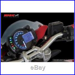 Tacho Koso digital cockpit Rx2n Plus with speedometer for scooter, motorcycle