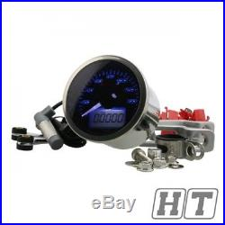 Tachometer Koso digital Eclipse Style up to 160 km / h for motorbike Quad Trike