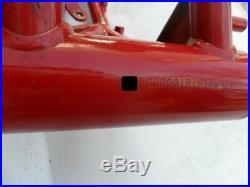 Unfallfrei unbeschädigt Rahmen Moto Morini 1200 Corsaro frame no damage 1A 2007